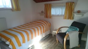 Boswei slaapkamer 2 met eenpersoonsbed