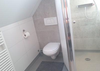 Surf-in toilet badkamer