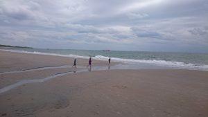 Spelen op het strand | Duinweg33 Vakantieverhuur